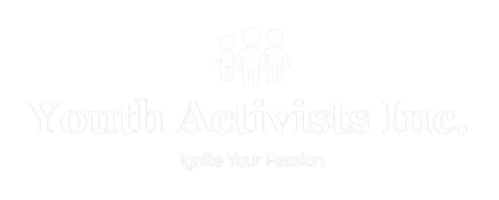 Youth Activists Inc Logo White